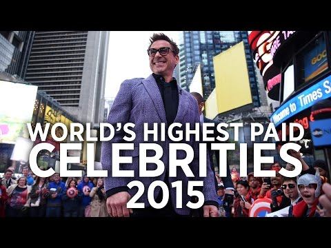 World's Highest Paid Celebrities 2015