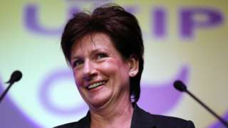 UKIP's Diane James: Why I'm not offering new policies