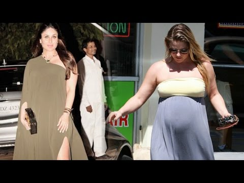 Kareena Kapoor Khan Copies Hollywood Actress Pregnancy Style