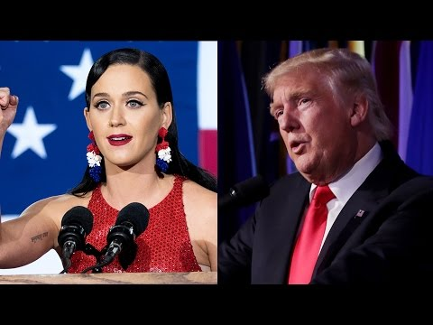 Celebrities React to Donald Trump Winning 2016 Presidential Election