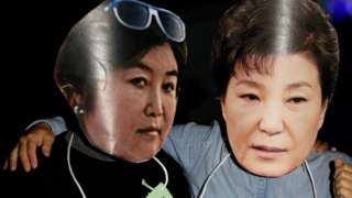 S Korea president Park Geun-hye 'had role' in scandal