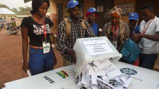 Ghana election commission website hacked