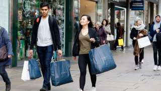 UK inflation at two-year high as clothing prices rise – BBC News
