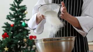Christmas culinary challenge for NHS