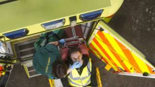 Ambulance services 'not coping' as demand rises