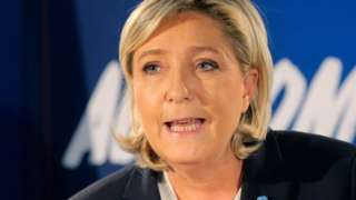 FN leader Le Pen calls for France to leave euro but stay linked