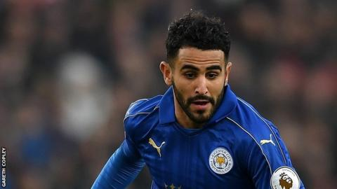 Riyad Mahrez: Leicester winger is named Africa's best player