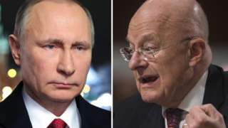 Russian hacking claims: US spy chief promises Putin motive
