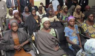 Nigerian Chibok girl found with her six-month-old baby