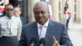 Defeated Mahama 'refused permission' to keep official residence