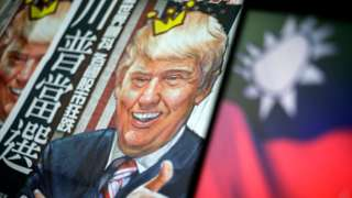 China media: Trump 'playing with fire' on Taiwan