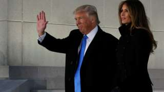 Donald Trump inauguration: 45th US president to be sworn in