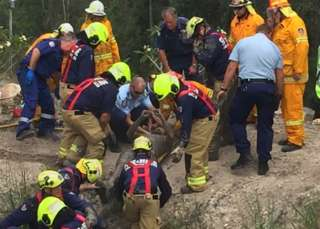 Pond ordeal survivor describes 'euphoric' rescue