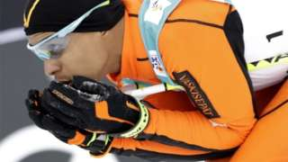 Protest over skier's expulsion by France