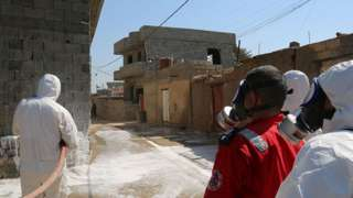 'First chemical attack' in Mosul battle injures twelve