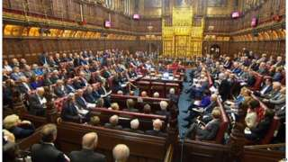 Brexit: Peers to press for parliamentary veto over deal