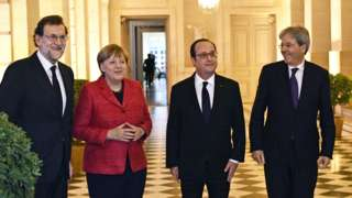 EU leaders embrace multi-speed Europe amid tensions