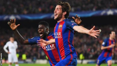 Barcelona stun PSG in miracle win