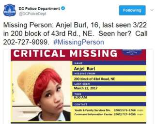 Are DC's girls really going missing?