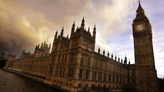Palace of Westminster: Two arrested on suspicion of trespass