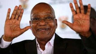 South Africa President Jacob Zuma gets backing from ANC