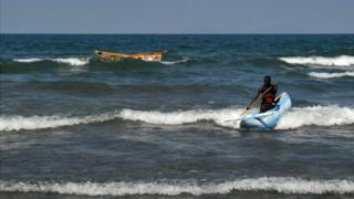 Lake Malawi boat disaster: 'Man held on to bag of flour'