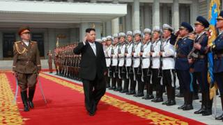 North Korea 'will test missiles weekly', senior official tells BBC