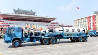 North Korea missile launch a 'provocation', US defence chief says