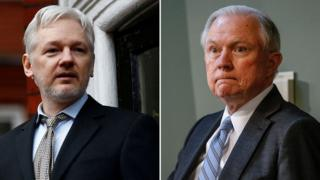 Julian Assange's arrest a 'priority' for US attorney general