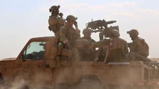 Syria war: US ground troops kill 'leading IS member'