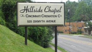 'Overly obese' body sparks Ohio funeral home fire