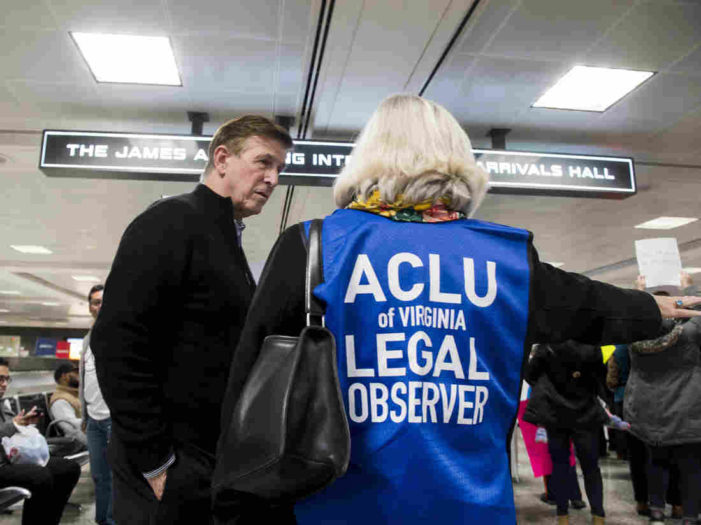 ACLU Files 13 Lawsuits For Records Related To Trump's Travel Ban – NPR