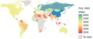 Do you live in the world's laziest country?