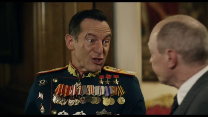 Russia bars 'extremist' British comedy The Death of Stalin